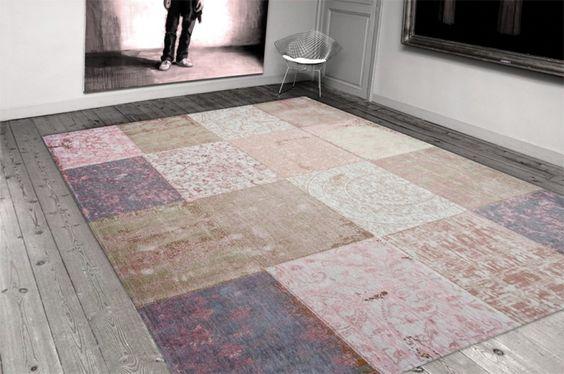 Patchwork vloerkleden en karpetten online bestellen