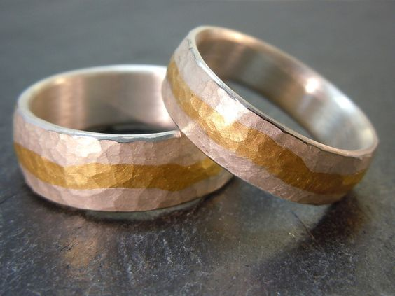 Facetten - Geschmiedete Trauringe  Products, Gold and Schmuck