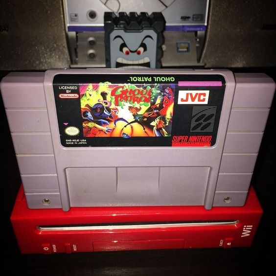 Curious one by retro____gamer #supernintendo #microhobbit (o) http://ift.tt/1V8Vg8q #retrocollective #snes  #ghoulpatrol #nintendo #jvc #zombiesatemyneighbors2
