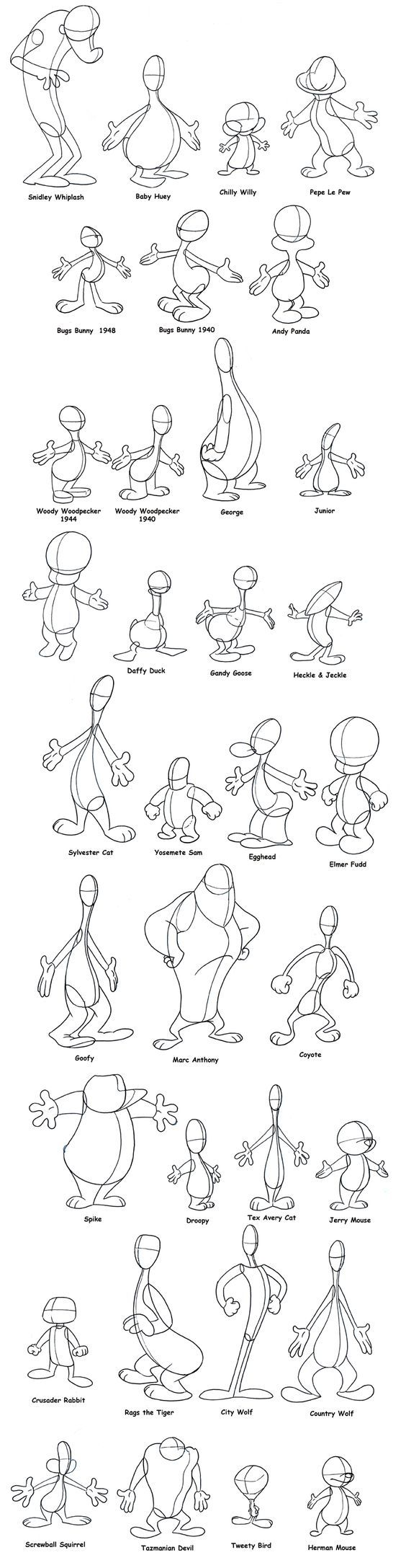 Cartoon Characters Using Shapes : Lip sync and character animation animasyon pinterest