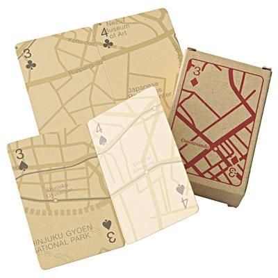 Tokyo Map Playing Cards