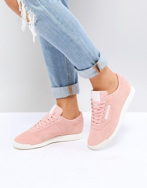 Lontano dovunque alieno  Reebok   Reebok Classic Princess Sneakers In Pink   Reebok shoes women,  Chic sneakers, Reebok classic