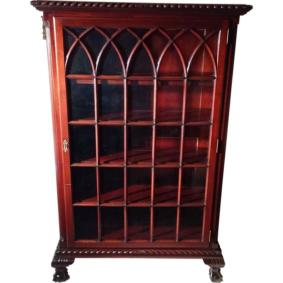 rare antique chippendale ball claw foot mahogany china cabinet circa 1880s antique english country armoire circa 1830s