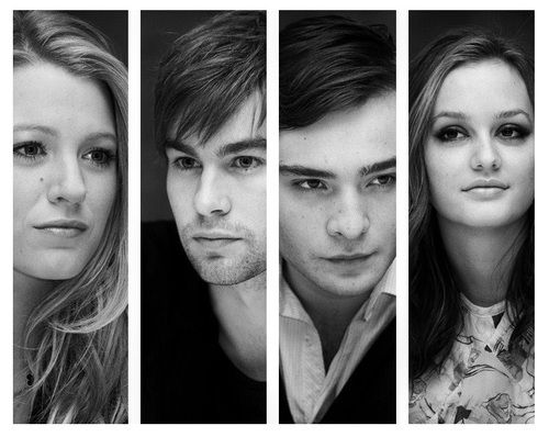 I am obsessed with gossip girl...upper east siders <3