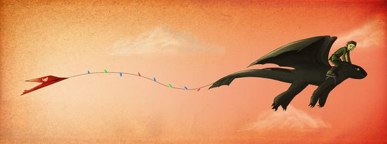 HTTYD - Kite by K3LCH4N.deviantart.com on @deviantART
