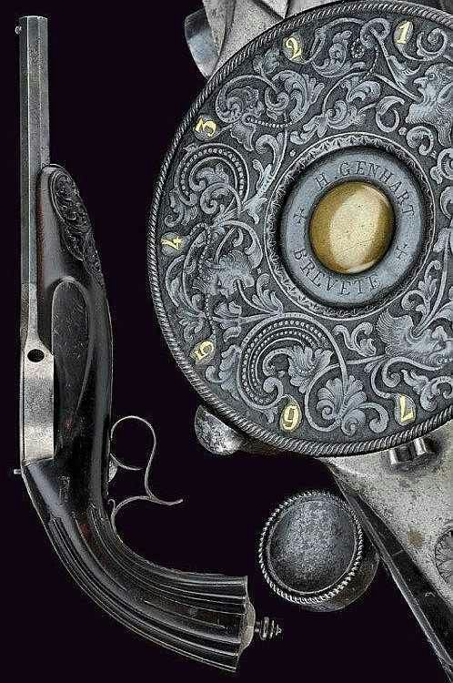 Unknown percussion pistol