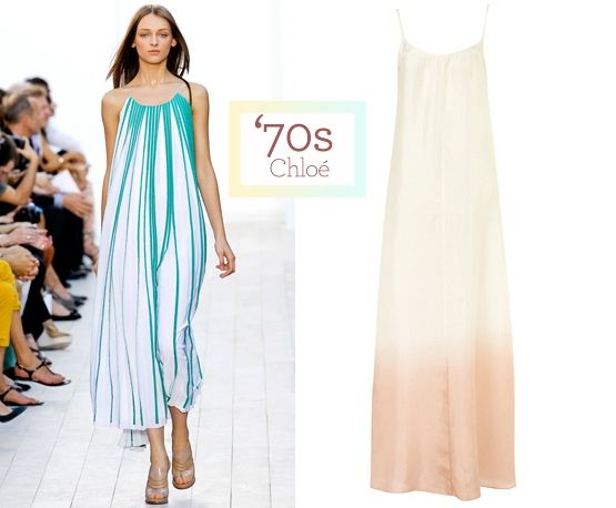 Retro looks: from runway to real way