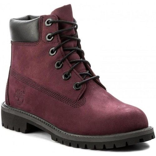 chaussure femme timberland bordeau