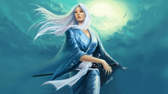 Costume; Waterfall Angel (Legend of the Five Rings- Doji Seo by PhanTom-CZ)