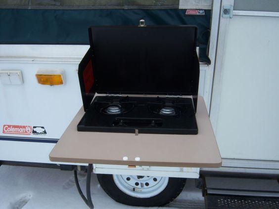 1 owner coleman pop up popup folding camper tent travel for Ebay motors car trailers