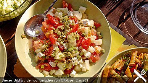 Melonensalat mit Feta (Rezept mit Bild) von mima53 | Chefkoch.de