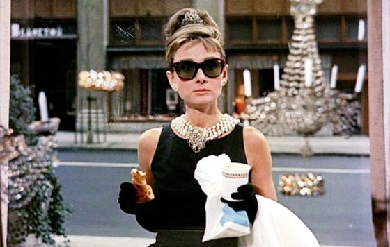 Holiday party style inspiration: The Breakfast at Tiffany's look