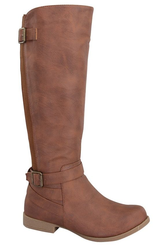 tan riding boots#faux leather riding boots#tall riding boots# knee ...