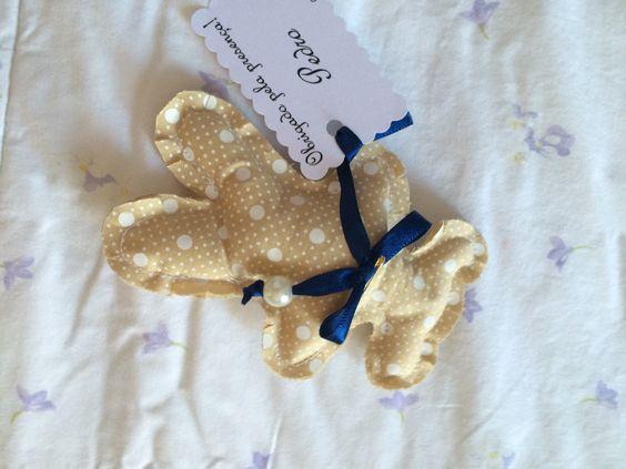 Sachês perfumados em formato de ursinho com cartãozinho personalizado. Maiores informações no email: panoemarte@panoem... Entregas em todo Brasil.