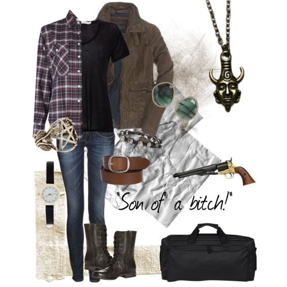 female!Dean Winchester<---- I don't watch the show (yet!) but I love the outfit