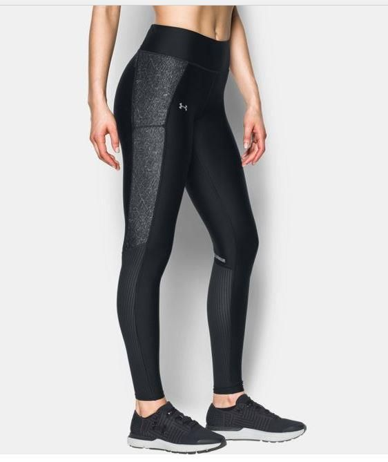 Under Armour Womens Ua Fly By Heatgear Black Compression Leggings Xl 1297937 003 Underarmour Pant Sporty Summer Outfits Under Armour Women Nike Women Outfits