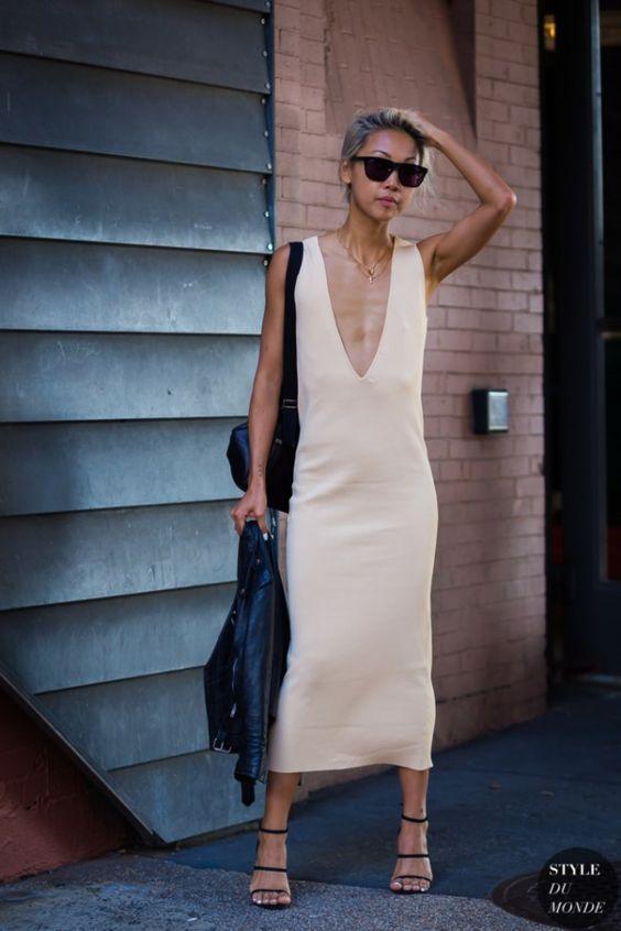 Vestidos de verano: el rey del street style. #verano #vestidos #summer #dresses #inspiración