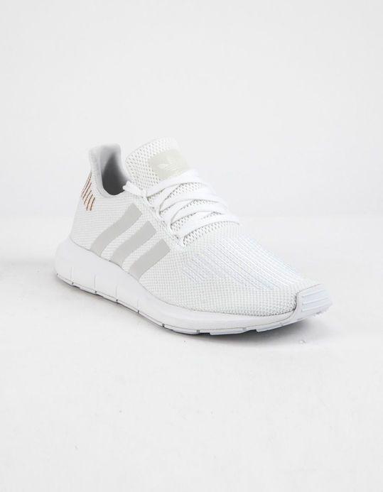 Adidas Swift Run Cloud White Crystal White Womens Shoes White 326616150 In 2021 White Shoes Women Adidas Swift Run Adidas Shoes Mens