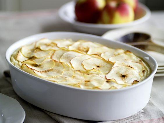 Hete bliksem ovenschotel met aardappelen, gehakt en appels - Libelle Lekker!