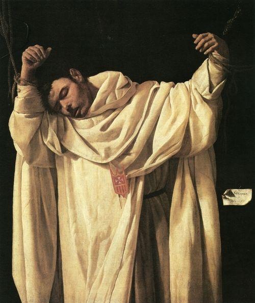 Francisco de Zurbarán , São Serapião , 1628