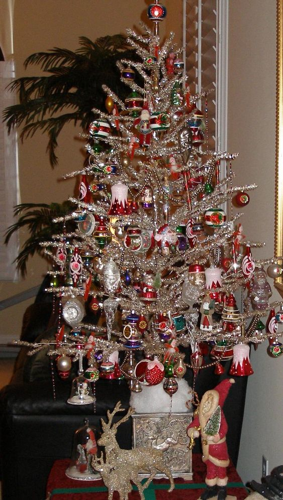 vintage silver christmas trees - Bing Images | Vintage ...