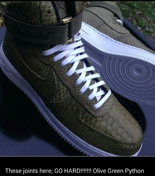 the latest f2ef9 ced82 army green air force ones