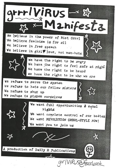 this is what a riot grrrl believes