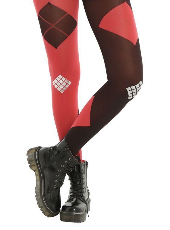 Suicide Squad Dc Comics Harley Quinn Logo Costume Cosplay