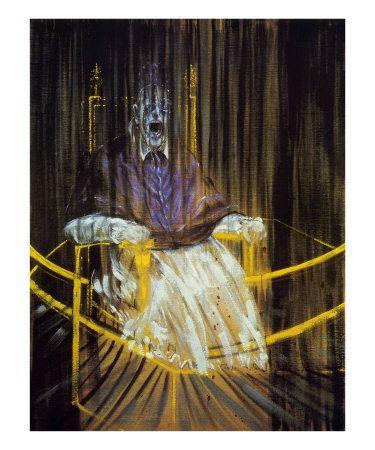 Francis Bacon, Etude d'Apres le Portrait du Pape Innocent X par Velasquez, c.1953
