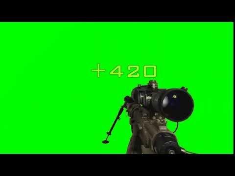 Quickscope Effect Mw2 Green Screen Meme Source Mega Download Youtube In 2021 Greenscreen Chroma Key Video Game News