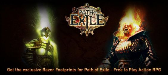 Get the exclusive Razer Footprints for Path of Exile - Free to Play Action RPG! . Visit GiveawayHop.com for more #sweepstakes and #giveaways