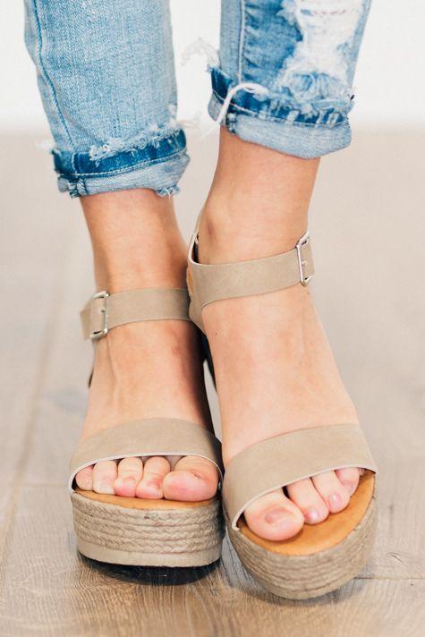 Elena Espadrille Wedges Spring shoes