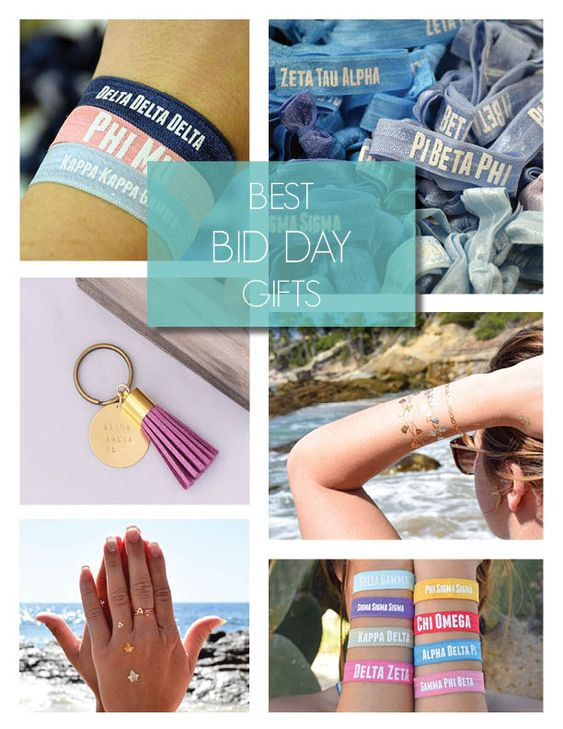Best sorority bid day gifts! Contact us to find something for any chapter budget! www.alistgreek.com