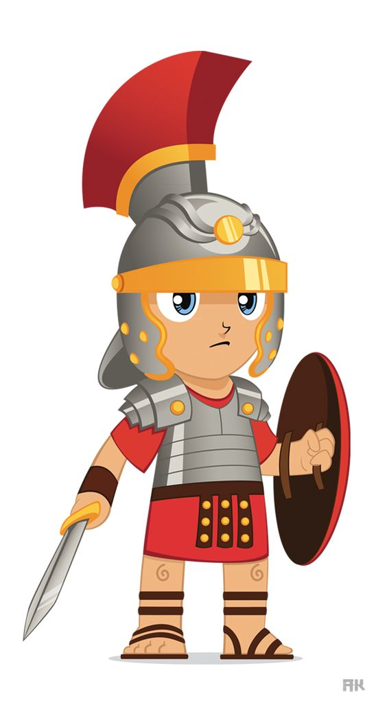 Roman Soldier Cartoon Carpe Diem