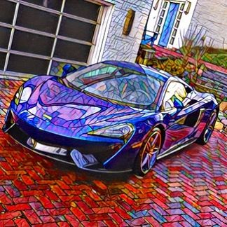 Layover = playing w/photo apps. Notice how the @mclarenauto speedmark mysteriously appears on the bonnet. Thx @carbitrage.usa 😘 #mclaren #mclaren570s #supercar #prisma🔼 #traveltime #caroftheday