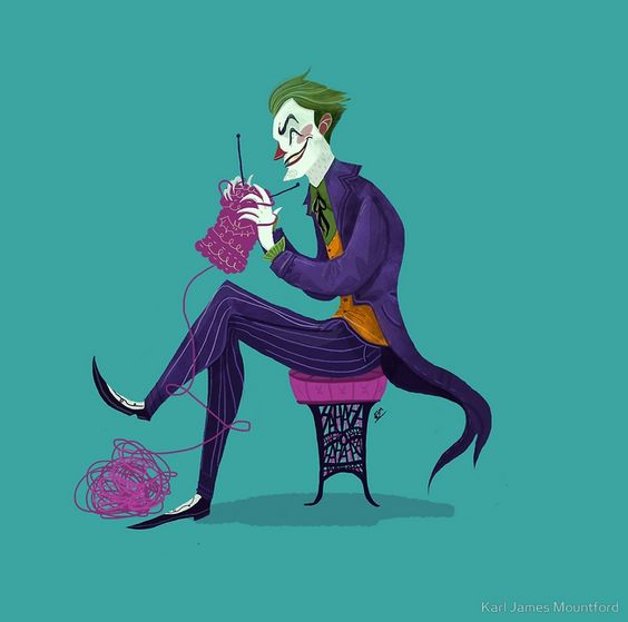 Joker by Karl James Mountford.: