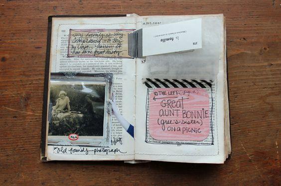 besottment.com old book journal