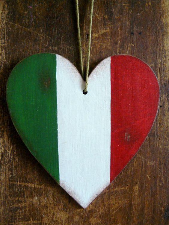 Italy flag Italian flag car decoration home decoration di annadw