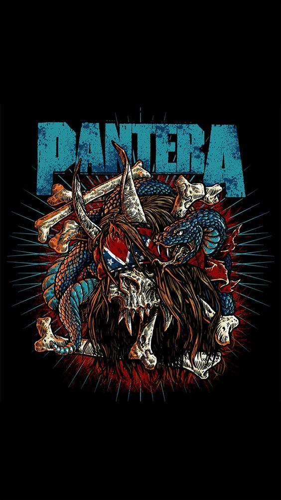 Imágenes de Heavy Metal para fondo de pantalla celular Pantera- Wallpapers para smartphones y pc para descargar