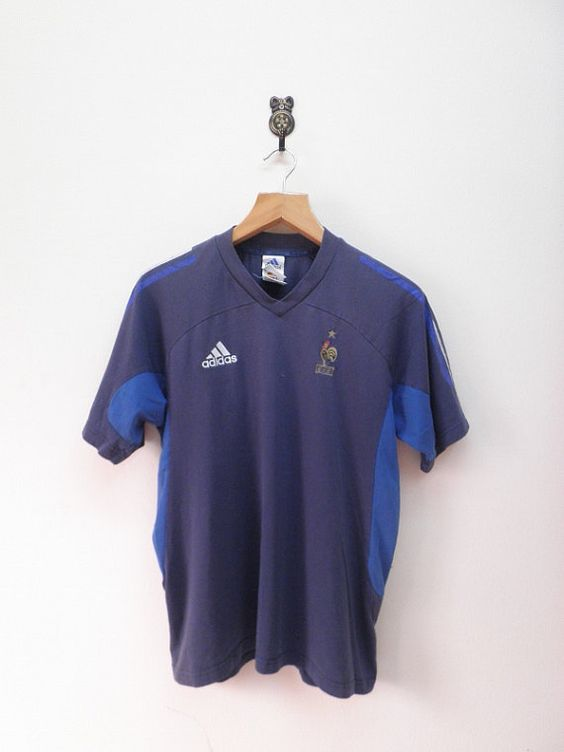 Vintage 90's Adidas French Football by RetroFlexClothing on Etsy