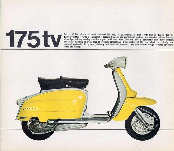 """Résultat de recherche d'images pour """"Lambretta turismo TV 175"""""""