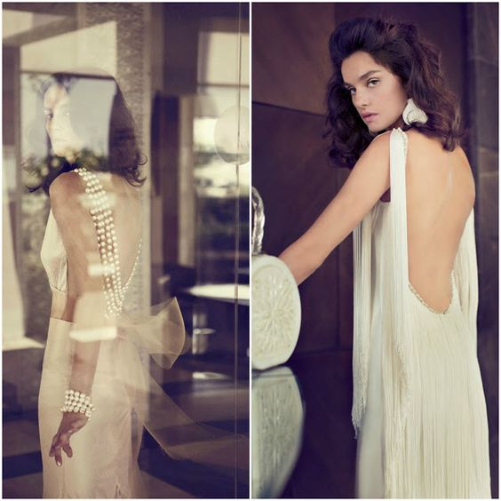 Zahavit Tshuba 2013 Bridal Collection; the picture on the left