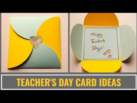 Easy Teacher S Day Card Making Idea Diy Teachers Day Cards