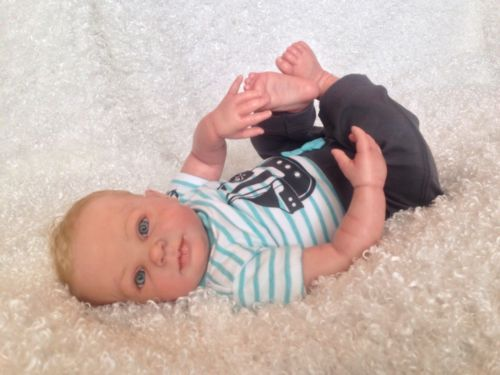 "Reborn Baby Boy ""Blaze"" sculpt by Donna RuBert"