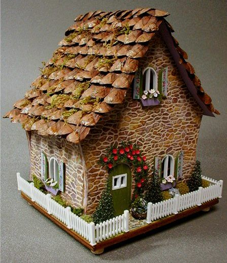 Love the style and roofing!: