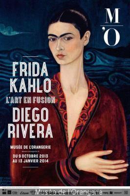 Frida Kahlo et Diego Rivera au Musée de l'Orangerie  du 12 novembre au 13 janvier 2014 #fridakhalo #museedelorangerie