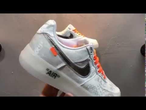 Custom Off White x Nike Air Force 1 Prm Clot in 2019 | Nike