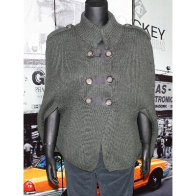 LIU JO Damen Sweater Poncho