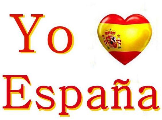 Yo amo a España.