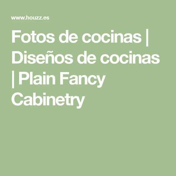 Fotos de cocinas | Diseños de cocinas | Plain Fancy Cabinetry